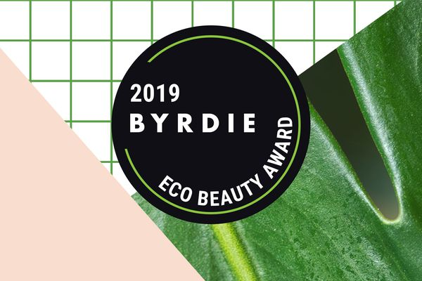 Graphic for 2019 Byrdie Eco Beauty Awards