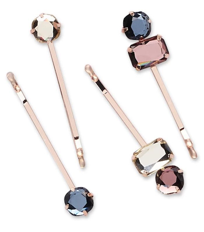 Sincerely Jules x Scunci Jeweled Bobby Pins 4 Pack