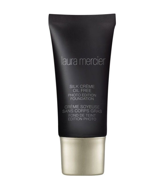 best foundation for acne: laura mercier silk creme oil free