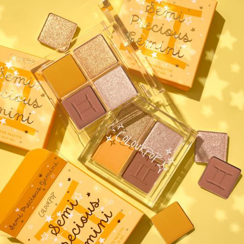 ColourPop Cosmetics Semi-Precious Gemini Shadow Palette ($9)