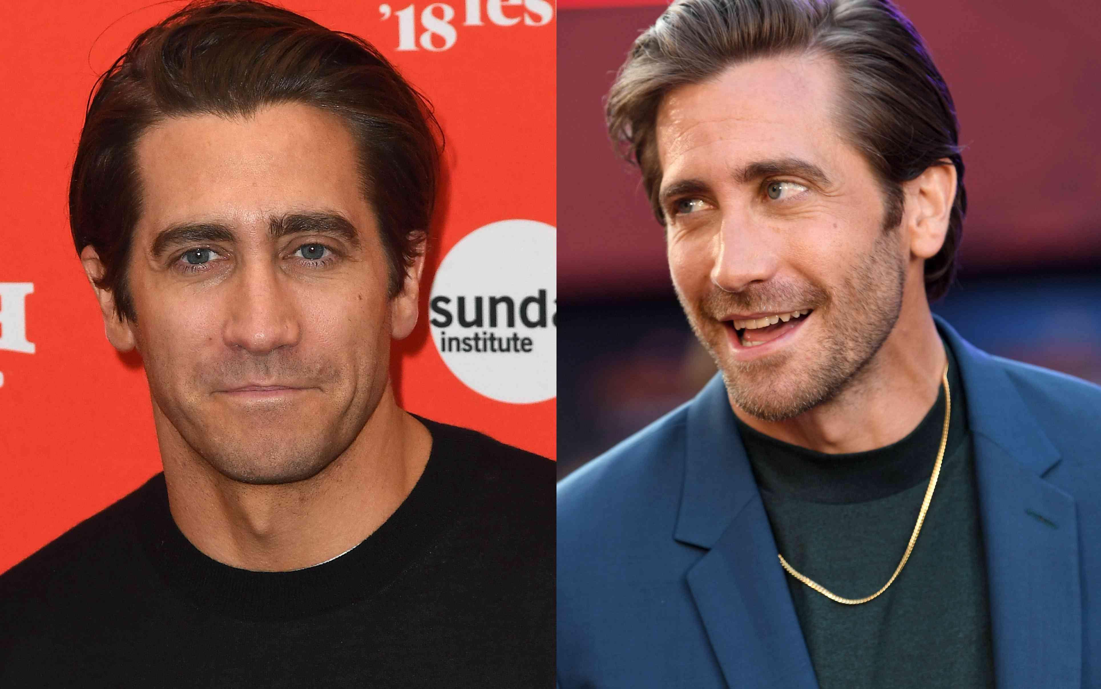 Jake Gyllenhaal hair parts