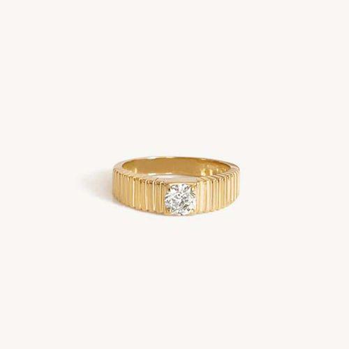 Solis Ribbed Ring II Mini ($1,460)