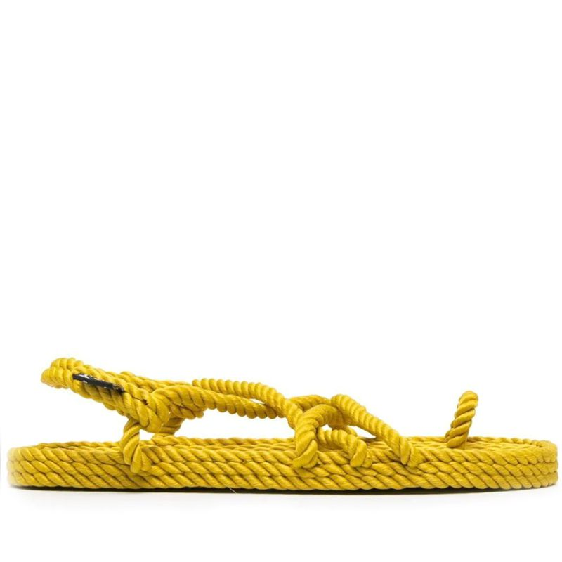 Toe Joe Straw Sandals