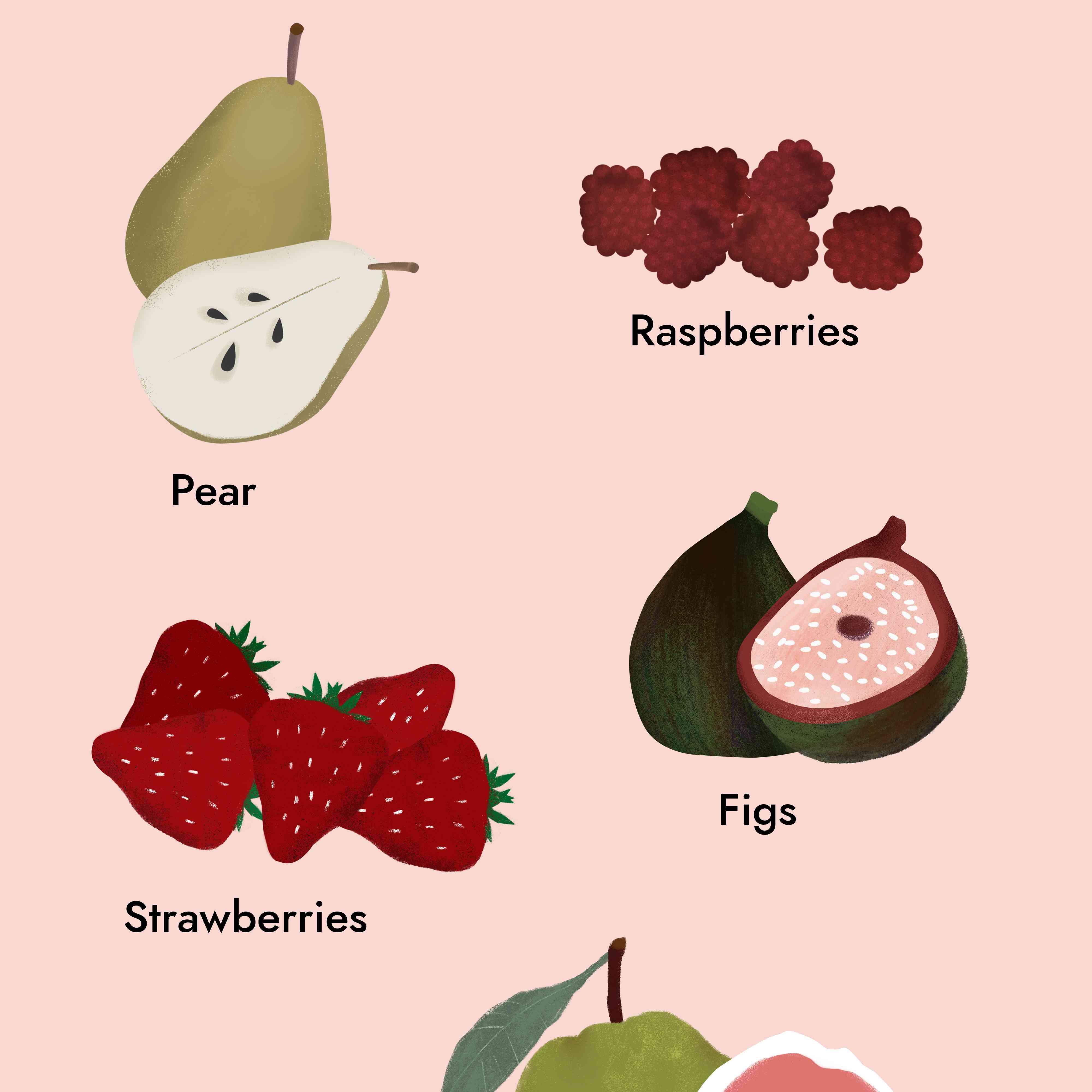 5 High-Fiber Fruits