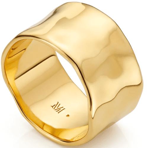 Monica Vinader Siren Muse Wide Ring