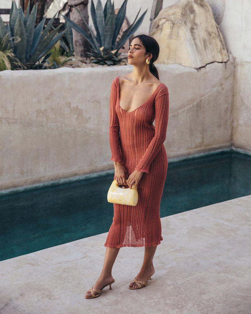Cult Gaia Antonella Knit Dress
