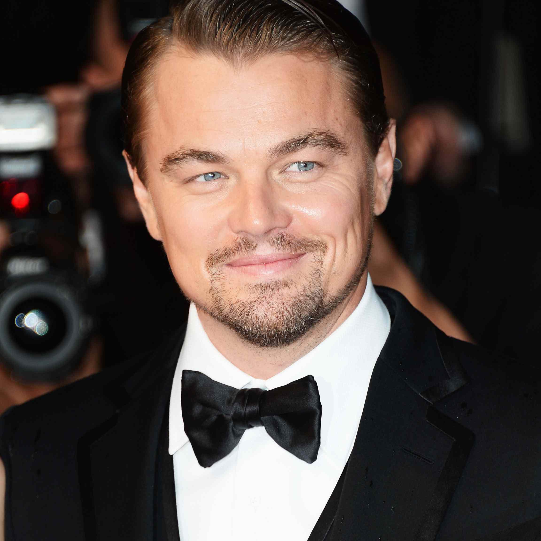 Leonardo DiCaprio 2013 hair