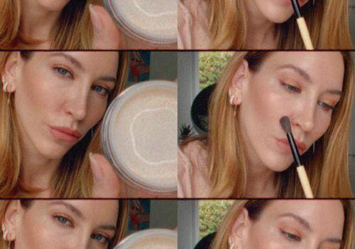 Nikki DeRoest powdering