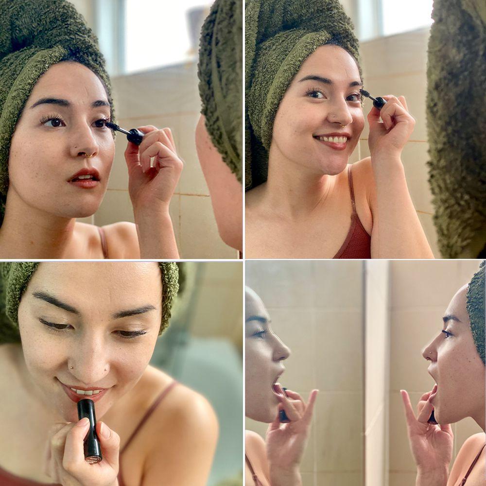 Four photos of Jessie Mei Li