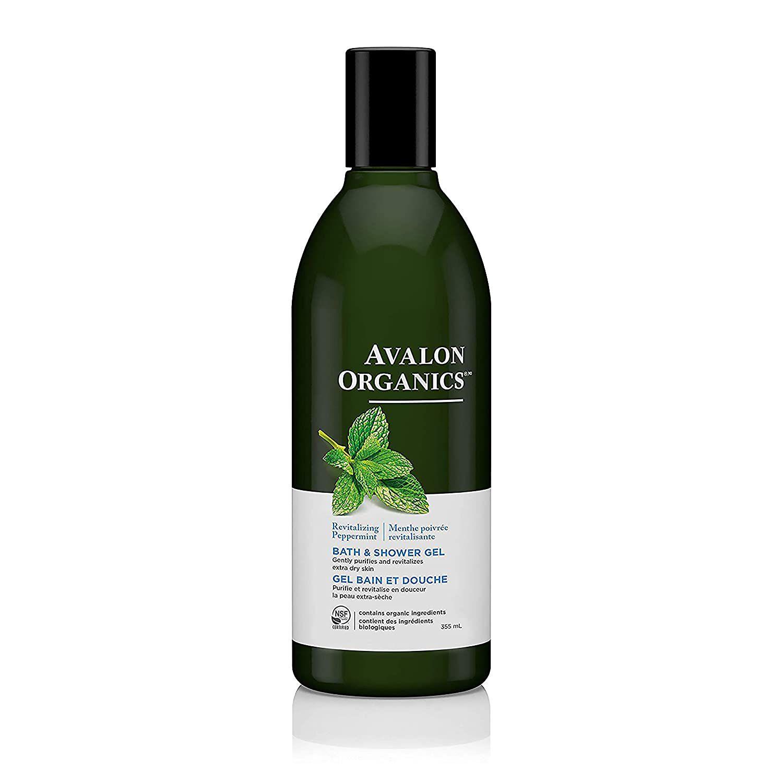 Avalon Organics Revitalizing Peppermint Bath & Shower Gel