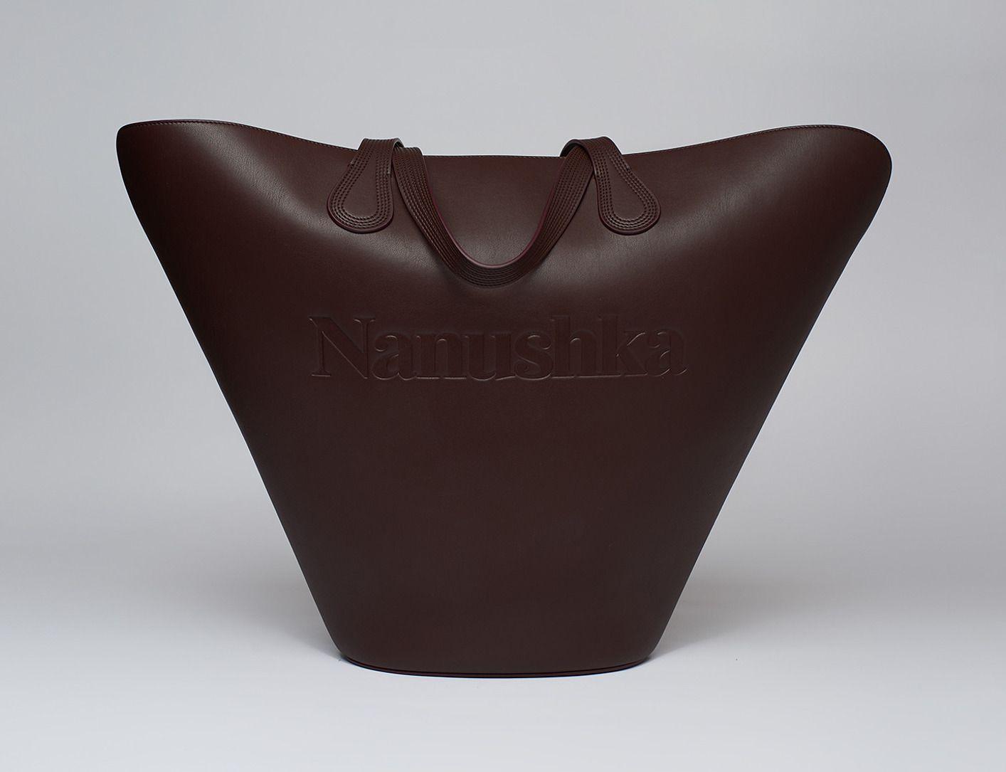 Nanushka Large Vegan Leather Tote