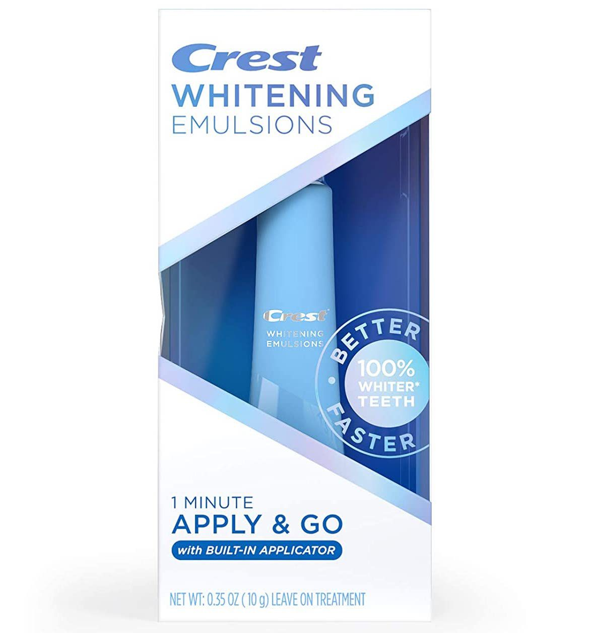 Crest Whitening Emulsions Leave-on Teeth Whitening with Built-in Applicator