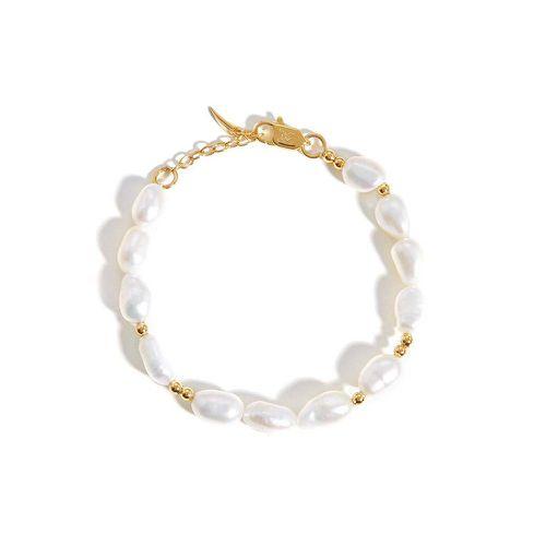 Pearl Beaded Bracelet ($115)
