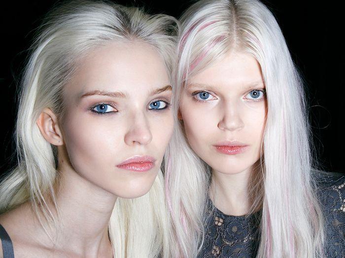 women with platinum hair
