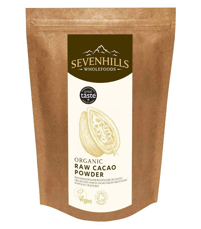 Sevenhills Wholefoods Organic Raw Cacao/Cocoa Powder