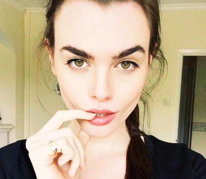 A British Model Reveals Her No-Makeup Makeup Routine