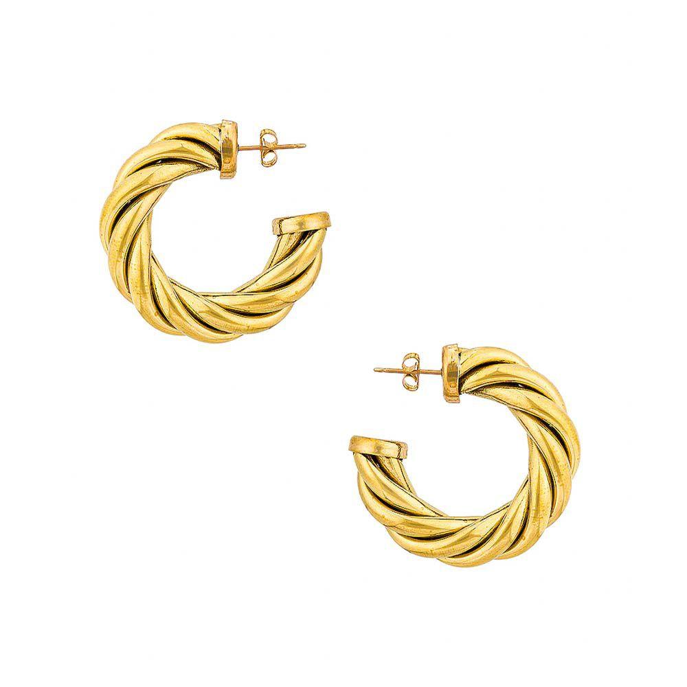 Spira Hoop Earrings