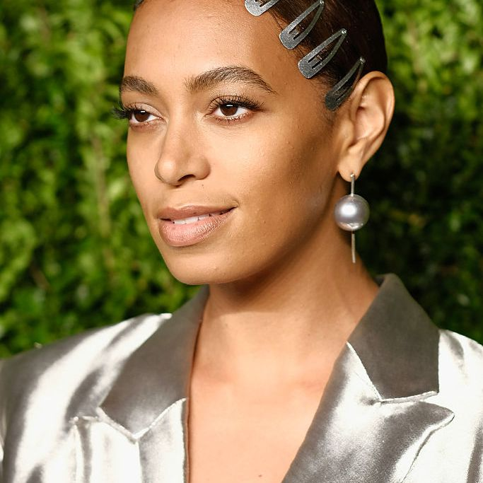 Solange silver hair clips