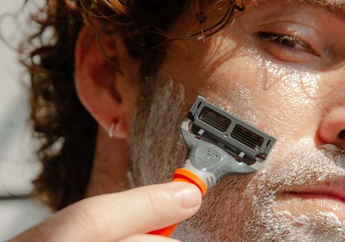 How to Shave Off a Beard