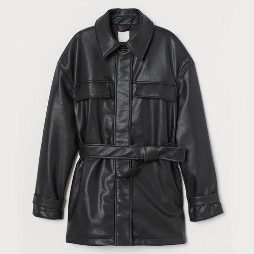 Faux Leather Jacket ($69.99)