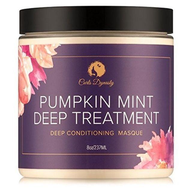 Curls Dynasty Pumpkin Mint Deep Treatment Masque