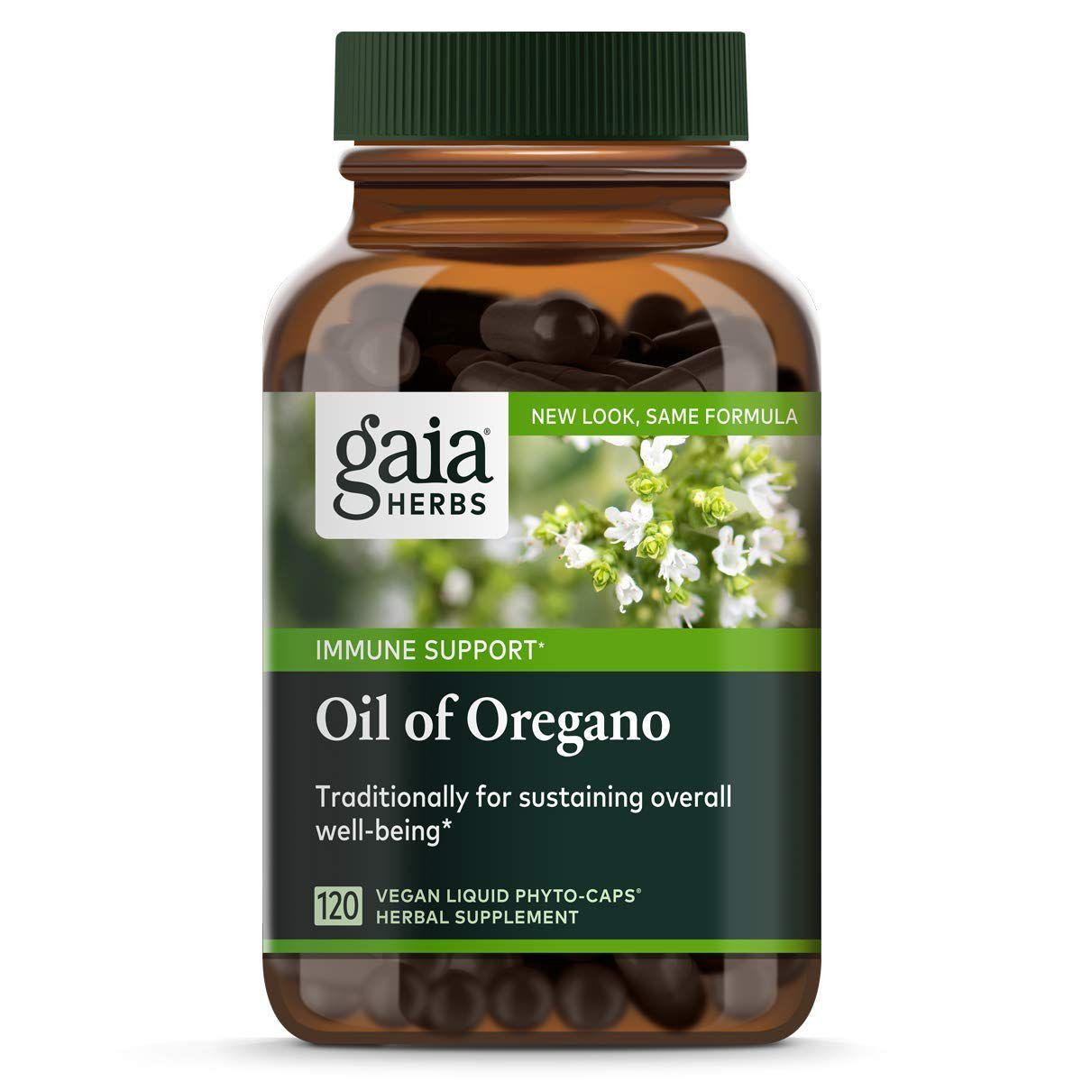 Oil of Oregano, Vegan Liquid Capsules, 120 Count