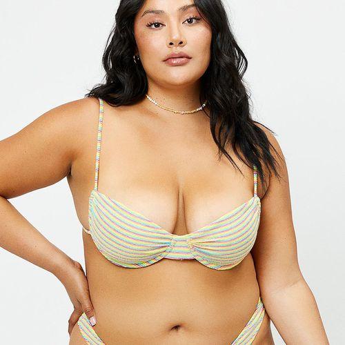 Bikinis Maggie Underwire Terry Bikini Top ($110)