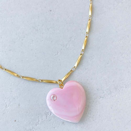 Sweet Nothing Heart Necklace ($84)