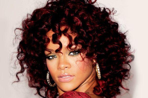 Dark red hair colors