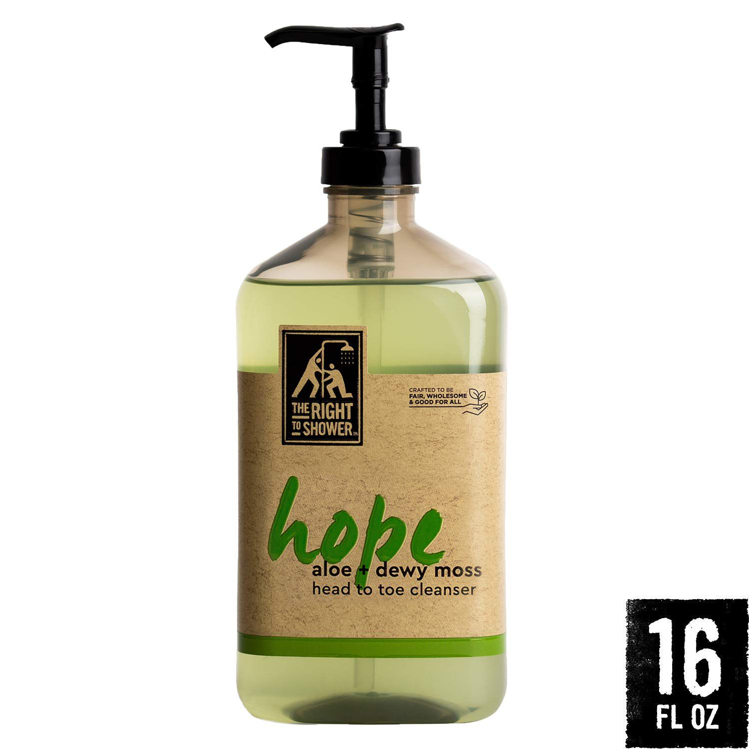 The Right to Shower Liquid Soap