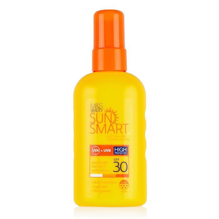 best drugstore sunscreen: Marks and Spencer Sun Smart SPF 30