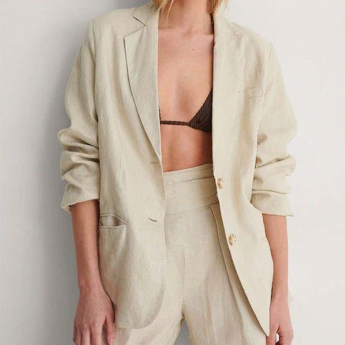 Oversized Linen Blazer ($83.95)