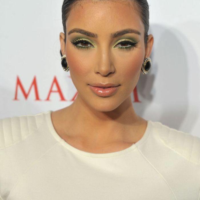 Kim Kardashian Makeup Looks - 2009