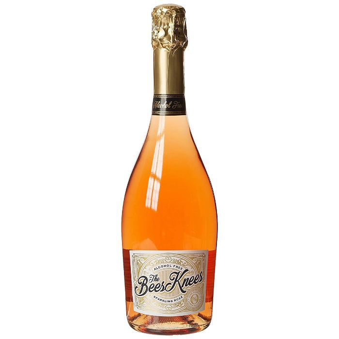 Non-Drinkers: The Bees Knees Non-Alcoholic Sparkling Rose Wine, Case of 3