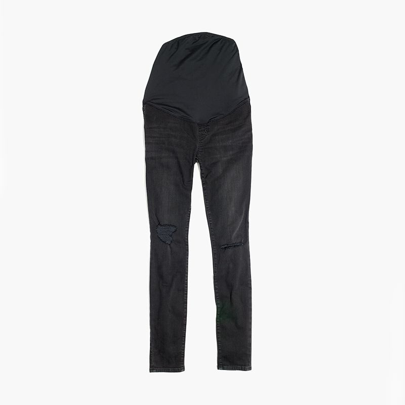 Over-the-Belly Skinny Jeans