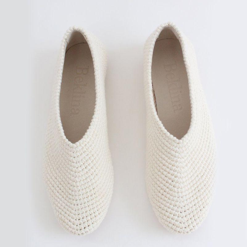 Crochet Ballet Flats
