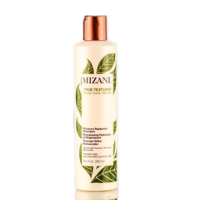 best shampoo for curly hair: Mizani True Textures Moisture Replenish Shampoo