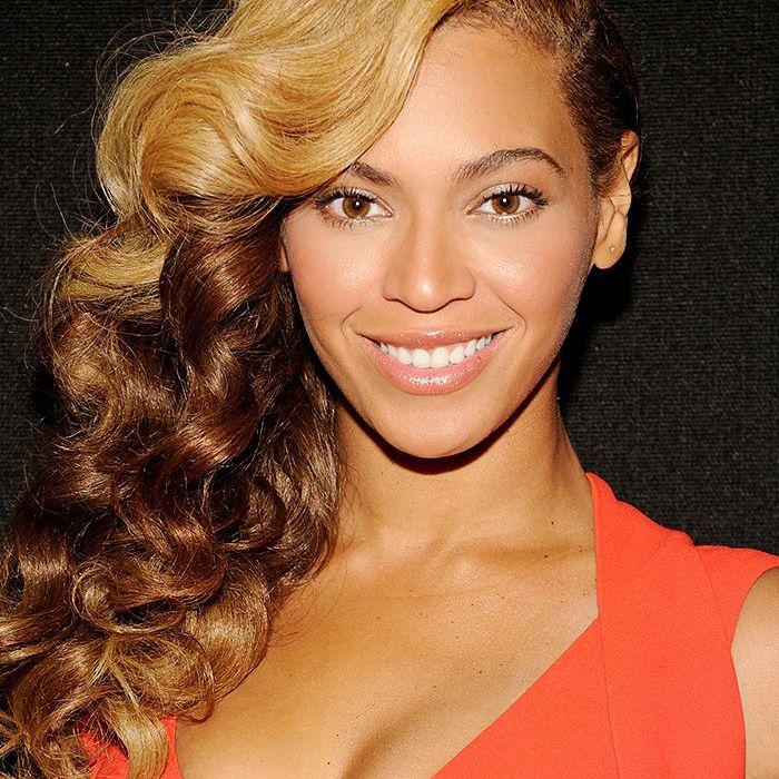Beyonce Super Bowl XLVII Halftime Show Press Conference natural makeup