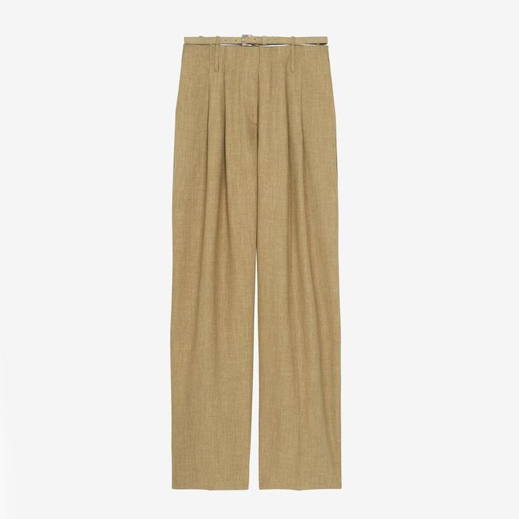 The Frankie Shop Harriet Belted Trousers