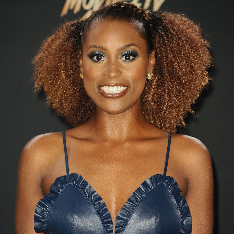 Short Medium Long Black Hairstyles Stretched Out Issa Rae