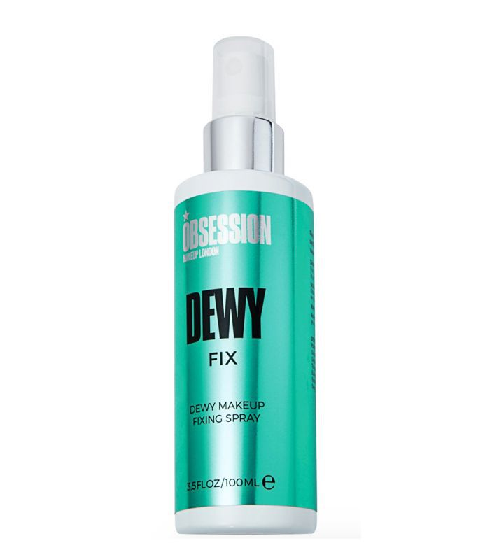 Best Drugstore Face Mist: Obsession Makeup London Dewy Fix Makup Fixing Spray