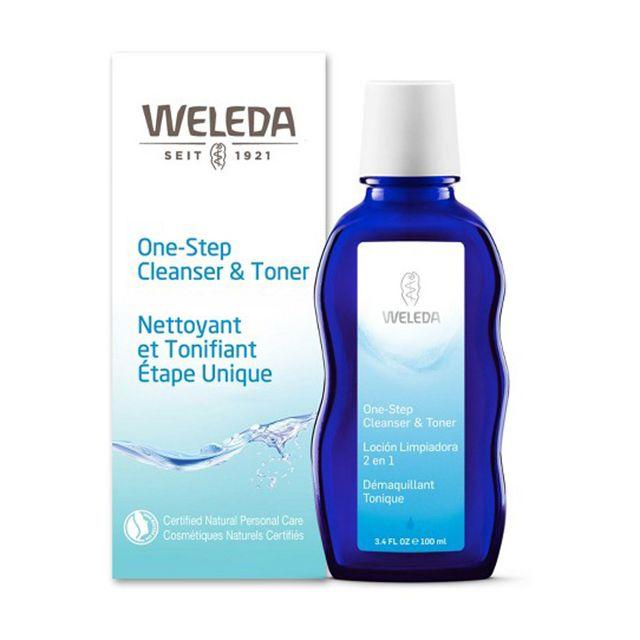 weleda one step cleanser and toner