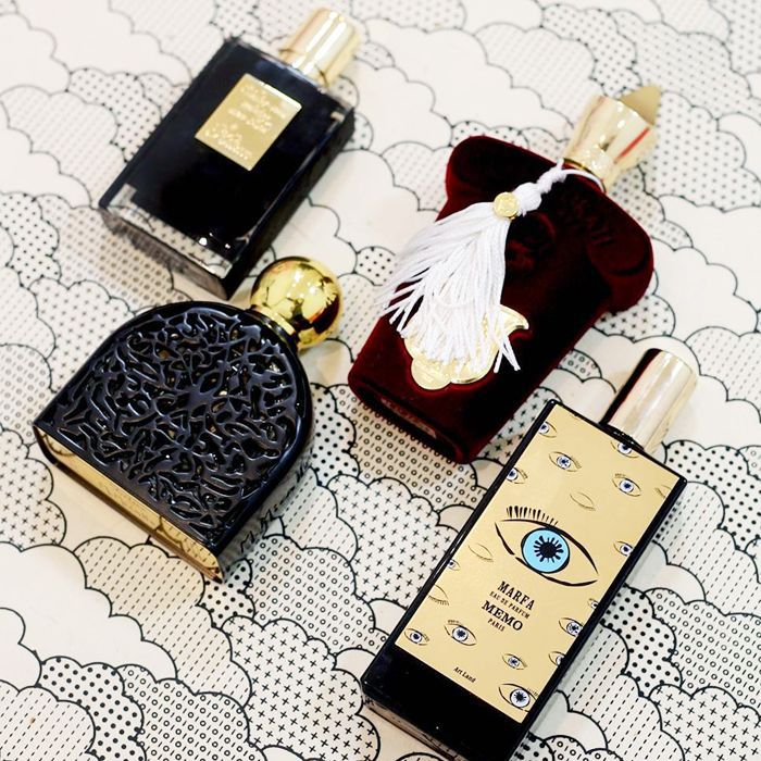 Memo fragrance review: perfume bottles