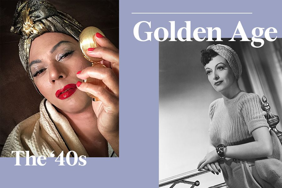 '40s makeup