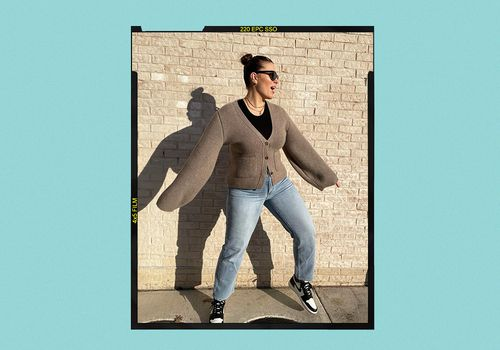 How to Wear Boyfriend Jeans Ashley Graham