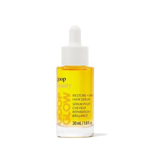 Goop hair serum vial