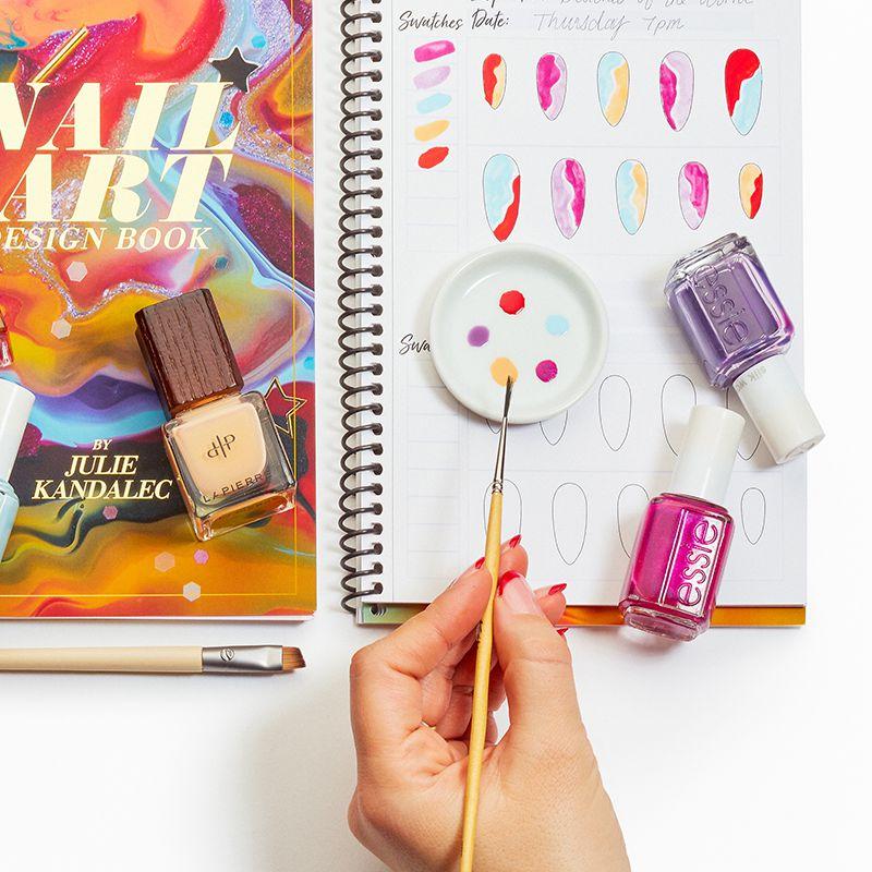 at-home nail art book
