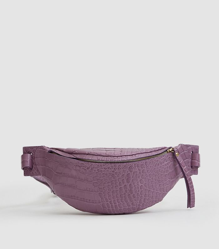 Lubo Waist Bag in Lilac