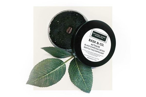 Bask & Co. Activated Black Charcoal Gentle Face + Body Exfoliant