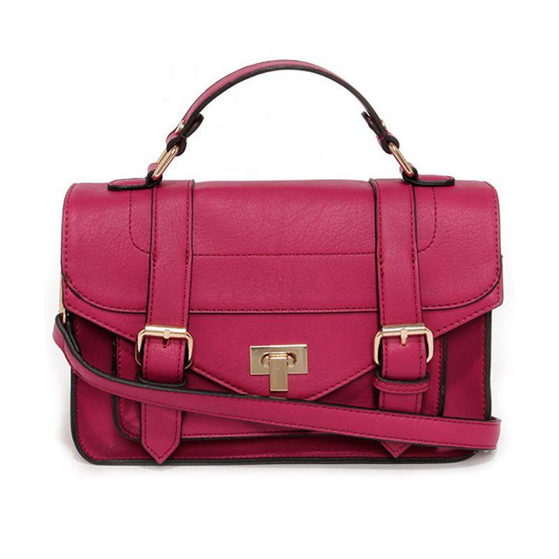 In the Bag Magenta Purse